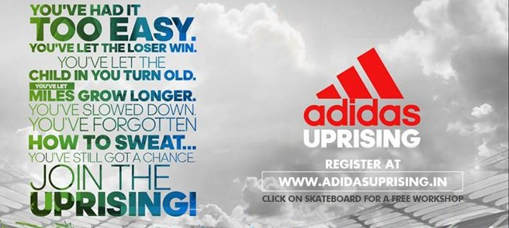 Adidas Sports Event in Delhi, NCR