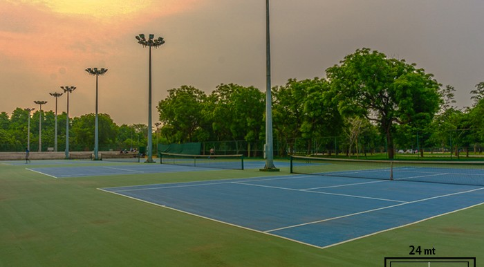 Running Routes in Delhi, IIT Delhi grounds